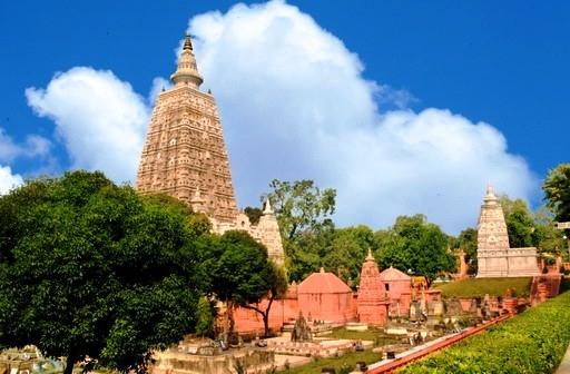 Thánh tích Bồ Đề Đạo Tràng (Bodhgaya) - nơi đức Phật thành đạo.